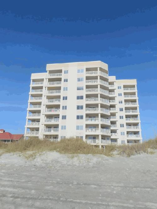 Xanadu Ii Is Located At 5800 North Ocean Blvd Myrtle Beach Sc A 40 Unit Front Inium Complex In The Cherry Grove Section Of